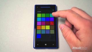 Windows Phone 8 Tips - The Home Screen