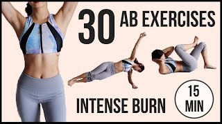 Скачать 30 BEST Ab Exercises In 15 Minutes Intense TABATA For Flat Belly And Six Pack Emi