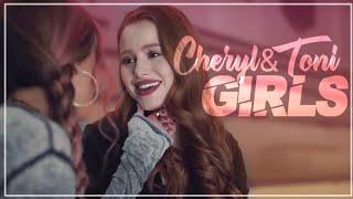 sometimes I just wanna kiss girls; cheryl & toni