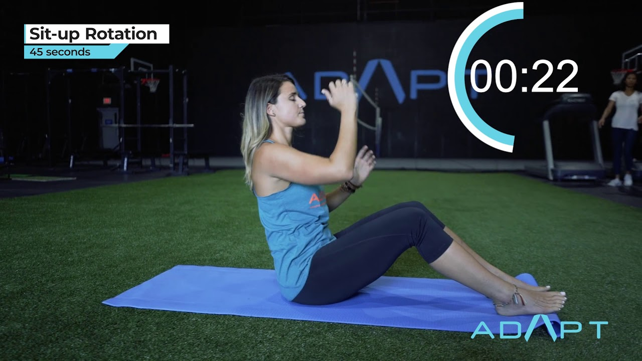 FUNCTIONAL FULL BODY INTERVAL WORKOUT - YouTube