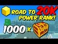 TROVE: Road to 20K PR | 1000 shadow fire gem boxes [EP. 1]