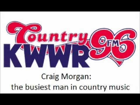 Country 96 interviews Craig Morgan