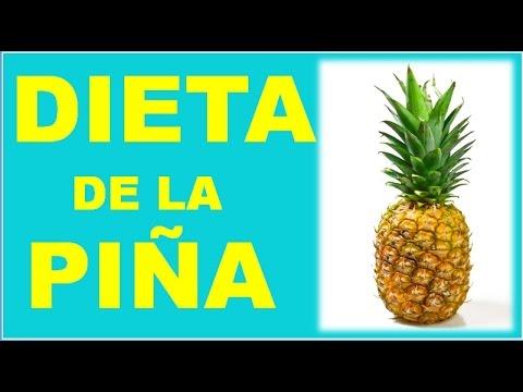 Dieta de la pina perder 5 kilos en tres dias