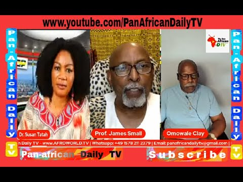 Malcom X Day with Prof. James Small, Elder Omowale Clay On Africa Liberation Week 2021