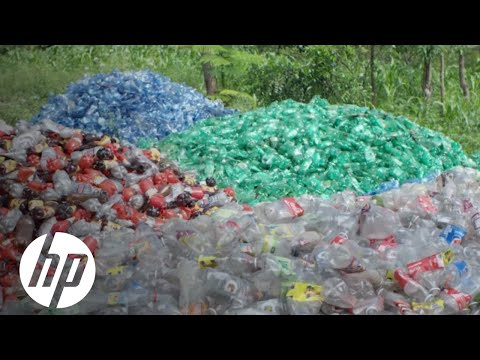 Ocean of Plastic: Closed-loop Recycling in Haiti | Reinvent Impact | HP