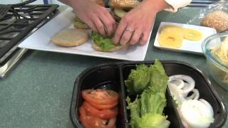 Hawaiian Turkey Burgers - An Easy Meal Idea From Fresh & Easy Neighborhood Market