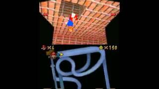 152 yıldız için hile dezavantajı (Super Mario 64 DS)