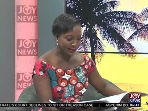 AM Show Newspaper Headlines on Joy News (10-3-17)