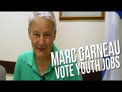 Marc Garneau Talks Youth Employment - Vote Youth Jobs