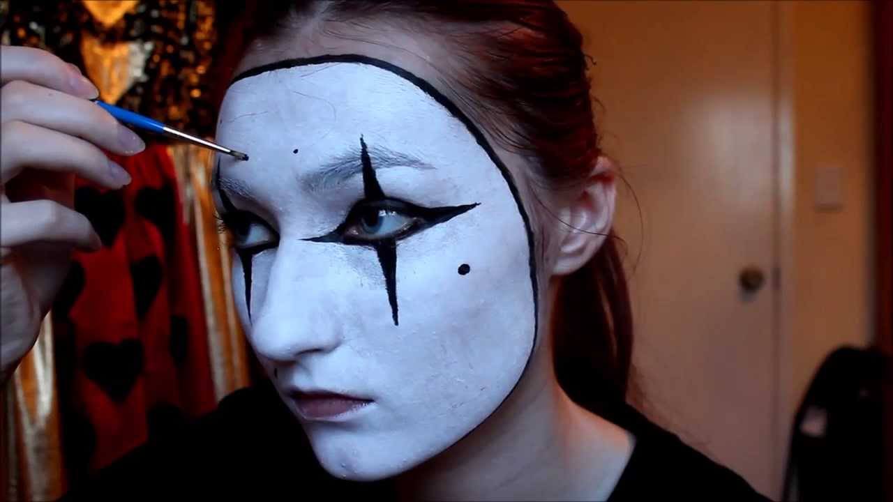sc 1 st  YouTube & EASY French Mime Costume + Makeup/Facepaint Tutorial - YouTube