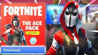 How to Get the NEW STARTER PACK! (Fortnite Ace Skin)