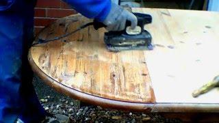 Реставрация Стола.(Этот ролик обработан в Видеоредакторе YouTube (https://www.youtube.com/editor), 2015-12-31T18:13:24.000Z)