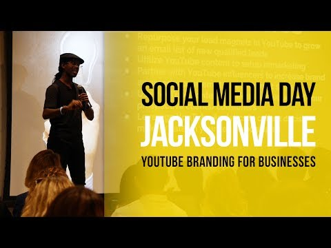 How to Grow a YouTube Channel for Businesses and Brands | #SMDAYJAX 2017