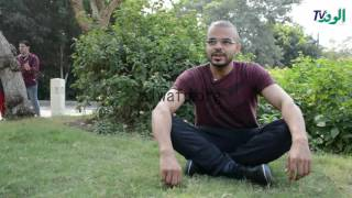 """بالفيديو والصور.. أحمد عثمان: """" اليوجا تحصن الحامل من آلام الولادة"""""""