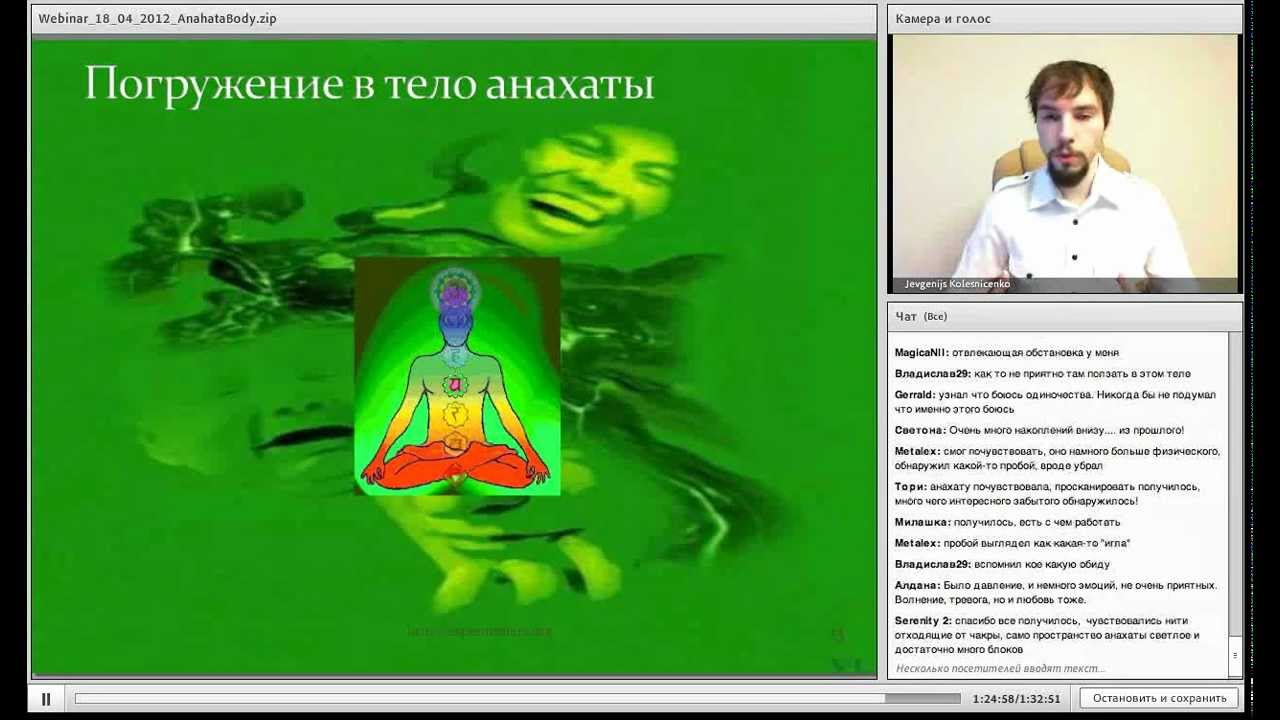 Школа магии: Работа с телом анахаты