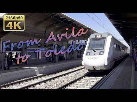 From Avila to Toledo by Train - Spain 4K Travel Channel