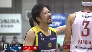 栃木ブレックスvs千葉ジェッツ|B.LEAGUE第16節Highlights|01.18.2017 プロバスケ (Bリーグ)