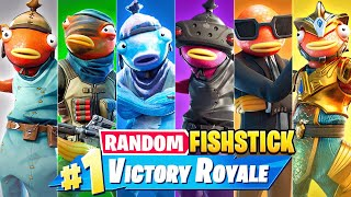 The *RANDOM* FISHSTICK BOSS Challenge in Fortnite!
