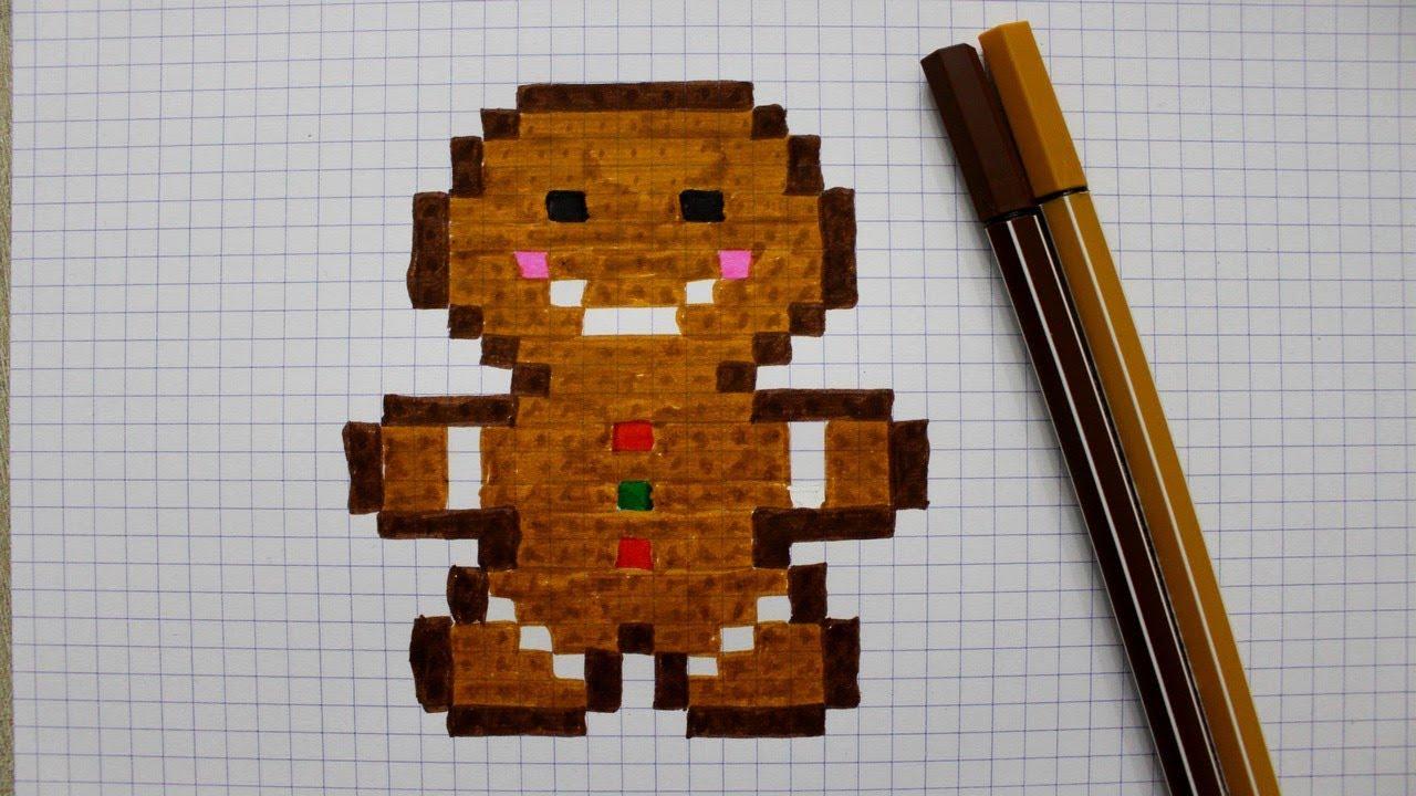 petit biscuit en pixel art