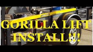 NEW GORILLA LIFT ASSIST INSTALL!! A LAWN CARE MUST HAVE!! SS LAWN CARE