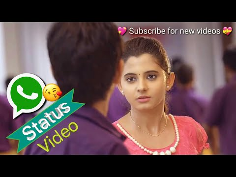 💝😘 Cute Telugu love WhatsApp status...