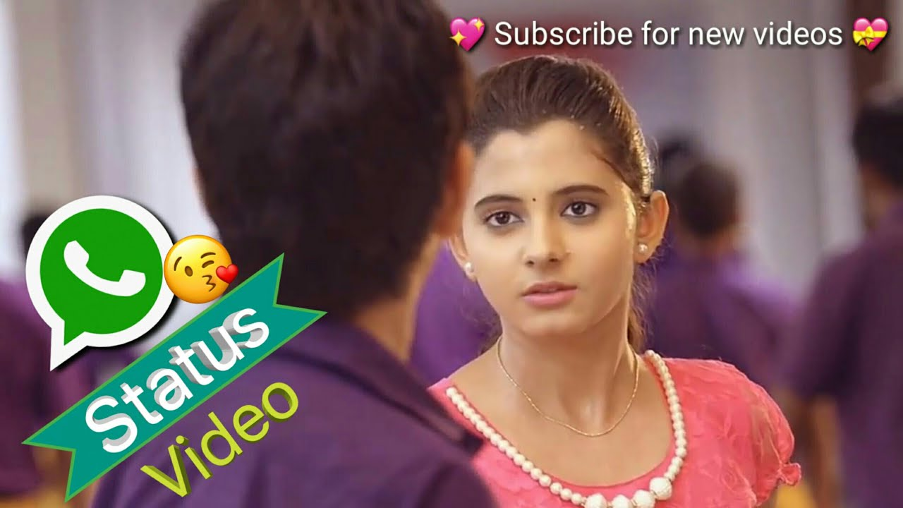 💝😘 Cute Telugu love WhatsApp status   Naa Unna Oka gunde ninnu choosi  kottukundhe song