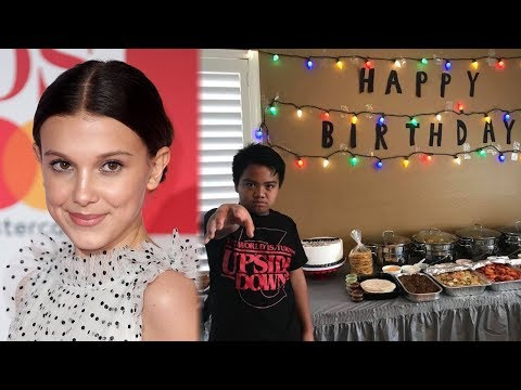 Millie Bobby Brown CHEERS UP Fan After No One Shows Up To Stranger Things Party