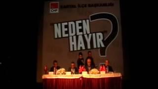 """""""Neden Hayır"""" Paneli İstanbul Barosu Başkanı Mehmet Durakoğlu'nun Konuşması"""