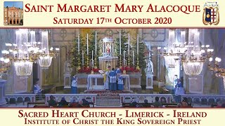 17th October 2020: Saint Margaret Mary Alacoque