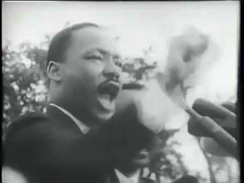 Martin Luther King, speech in Montgomery, AL, 1965