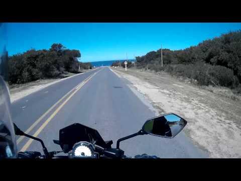 Uruguay, Moto - Ruta 104 Manantiales - Maldonado. BAKA BEYOND: THE BRAIS OF LOCH EIL. Er6n, SJ4000