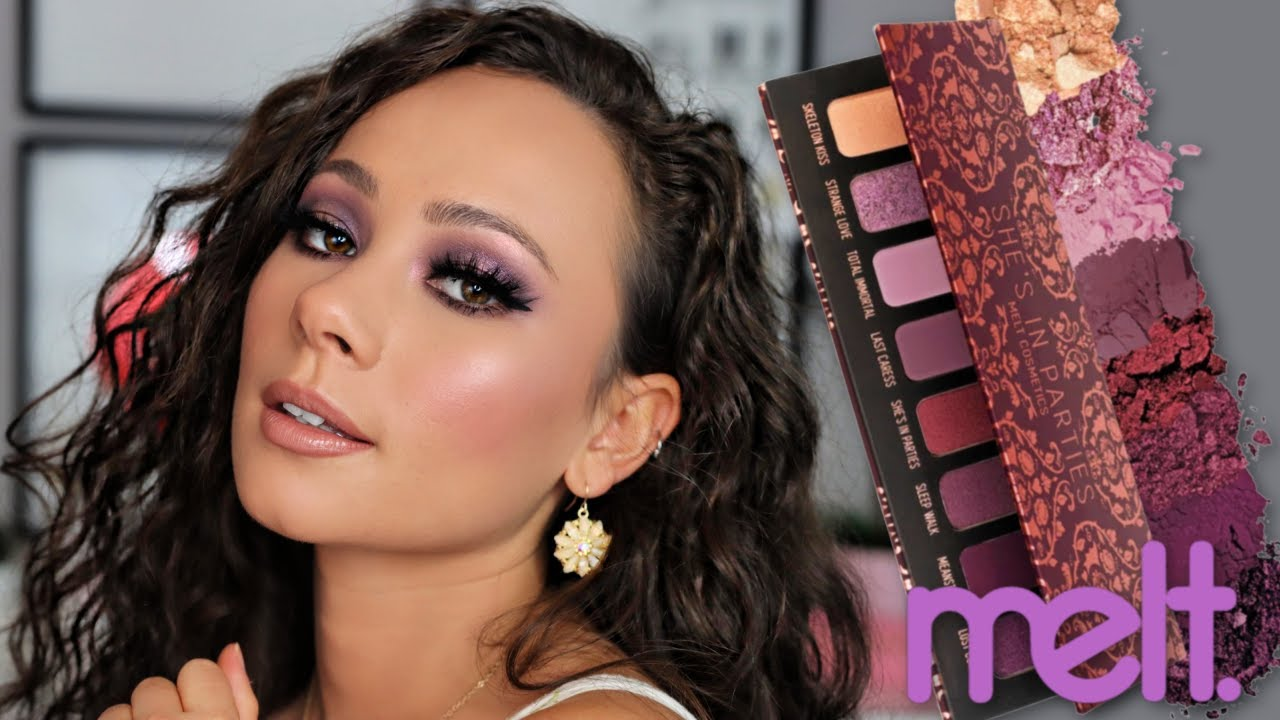 Melt Cosmetics She's In Parties Palette // Review & Tutorial