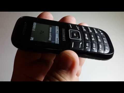Samsung 1200E оригинал обзор