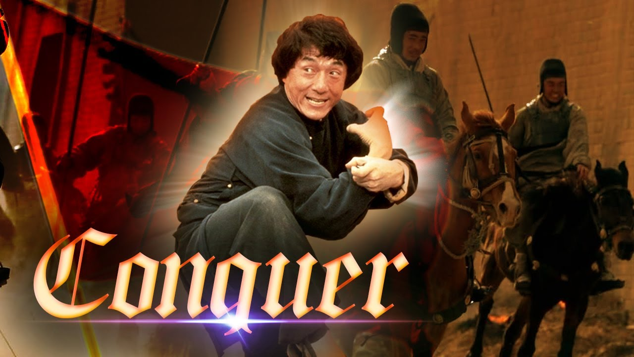 Conquer ll Chinese Martial Art Action Movie in English ll Jackie Chan Movie