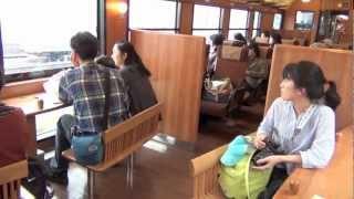 JR九州 観光特急「はやとの風 2号」 乗車記録_2011.11.4
