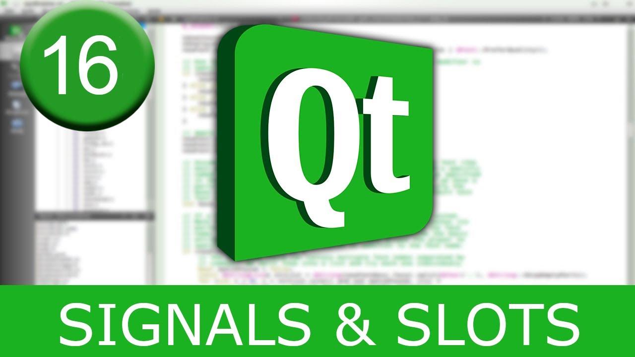 Qt Slots