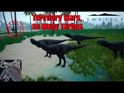 The Isle Realism: Territory Wars, So Many Tarbos!