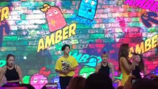 [FANCAM] 160910 Amber 'Shake That Brass' - K-pop Mini Concert