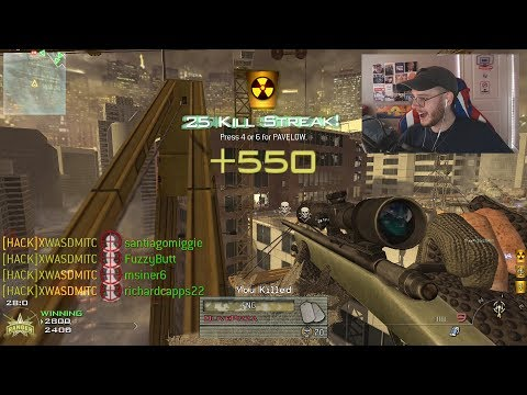 This FREE GAME Is WAY BETTER Than Modern Warfare! (IW4X MW2 INSANE Sniping Nukes In 2019)