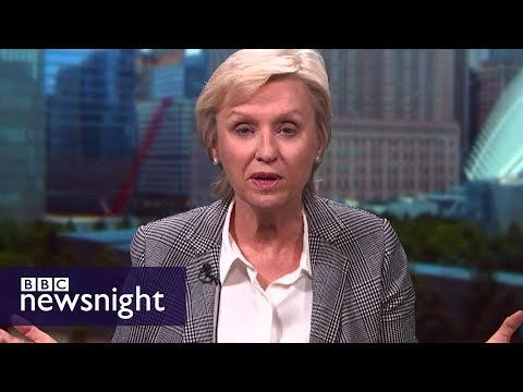 Tina Brown on Harvey Weinstein: 'This is a purifying moment' - BBC Newsnight