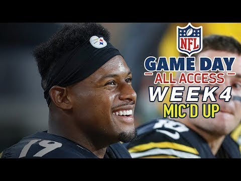 """NFL Week 4 Mic'd Up, """"That was the hardest hit I ever took"""" 