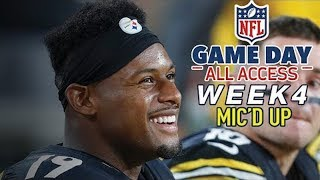 "NFL Week 4 Mic'd Up, ""That was the hardest hit I ever took"" 