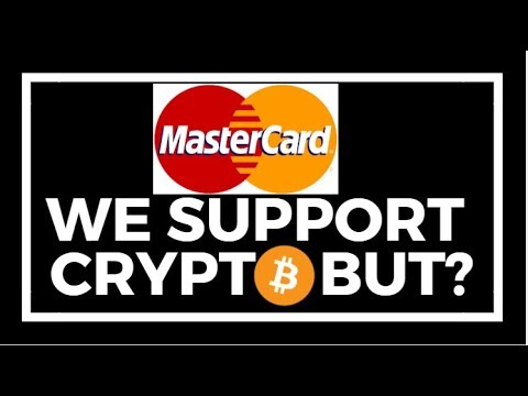 MASTER CARD WILL SUPPORT CRYPTO CURRENCY BUT WITH A CONDITION/ ETHEREUM WHALES ARE ICOS