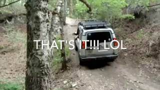 3 JEEPS with 35'' tires VS MY DISCOVERY 2 stock, The movie!