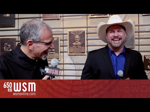 Garth Brooks at the 2018 Country Music Hall of Fame Induction | Convos With Charlie | WSM Radio