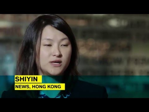 Shiyin Shares Her Experience Working for Bloomberg News in Hong Kong