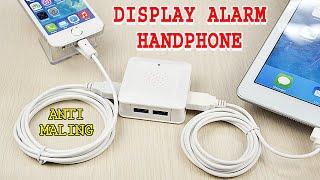 Display Security Alarm, 4 Port, Pengamanan Display Handphone