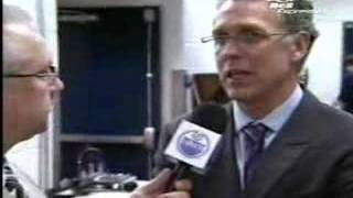Craig MacTavish Pre-Game Interview