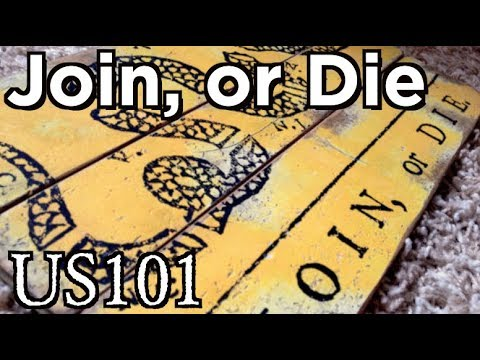 Join, or Die: America's First Political Cartoon - US 101