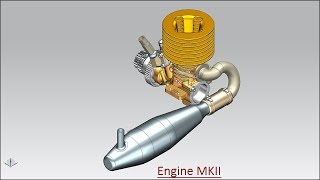 Engine MKII (Volume-2) Siemens NX Tutorial